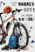 Cycle Birthday Card